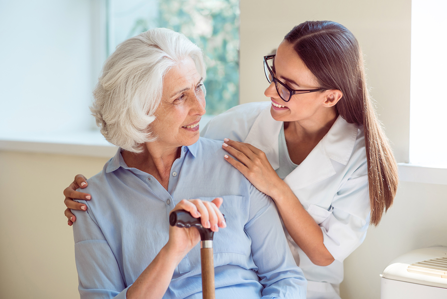 Caregiver in Indianapolis IN: Senior Walking Assistance